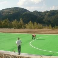 20. Izgradnja sportskih terena na fazi III flotacijskog odlagališta 2013. god.
