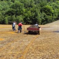 5. Početak radova na rekultivaciji flotacijskog odlagališta faze II 2011. god.