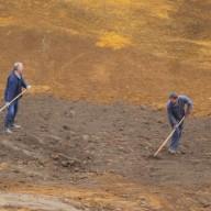 6. Radovi na razgrtanju zemljišta na fazi I flotacijskog odlagališta 2011. god.