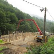 Izgradnja bazena za preradu vode 2014. god.
