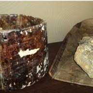 Posuda za priklupljanje i ispiranje materijala nađena u rimskim rudarskim prostorijama