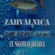 Zahvalnica Škobaljijada 2009.