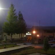 Spomen park noću 2012 god.