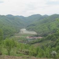 Panorama rudnika u proleće 2015. god.