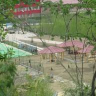 Pogled na sportske terene i ljetnjikovce maj 2015. god.