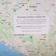 Beat plastic pollution in Saska river
